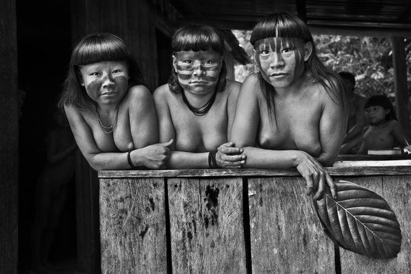 Indiennes Zuraha Etat d'Amazonas Salgado
