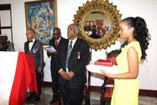 En 2015, Geoffroy Robert est  élevé au rang de Chevalier de la Légion d'Honneur