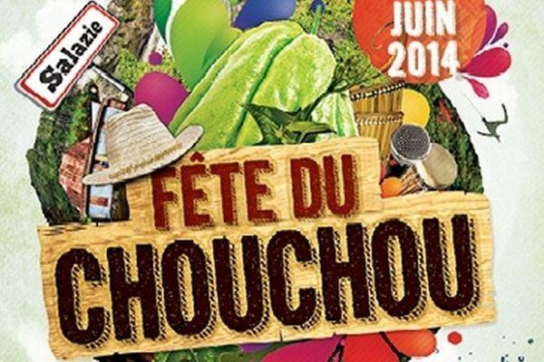 affiche de la 11 ème édition de la fête du chouchou