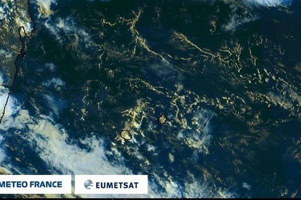 Image Sat de La Réunion