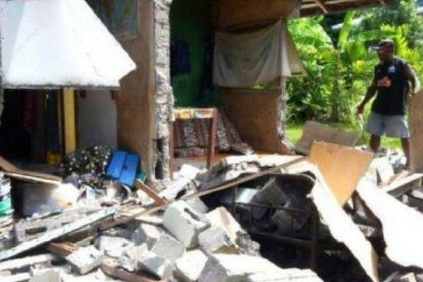 Salomon : dégâts du séisme (déc 2016)