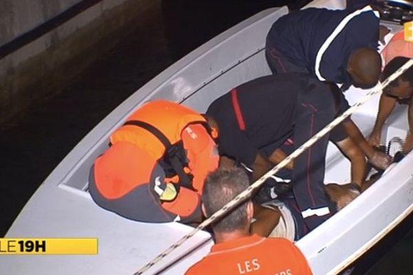 Accident en mer