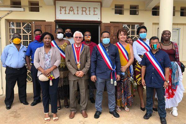 Pierre Désert et son équipe municipale