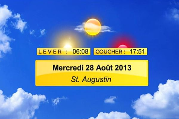 meteo 28 aout