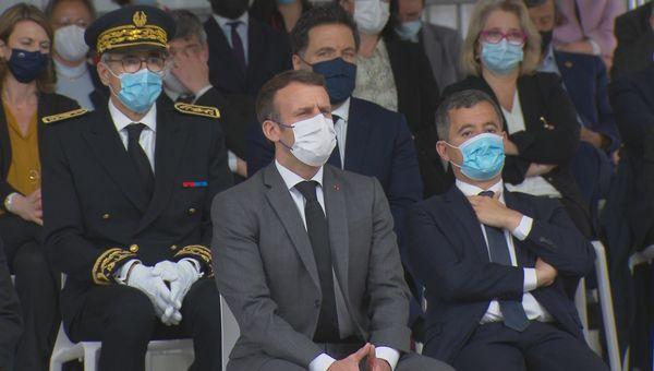 remise prix face président Macron