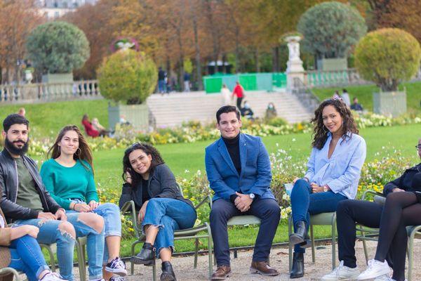 Etudiants réunionnais à Paris