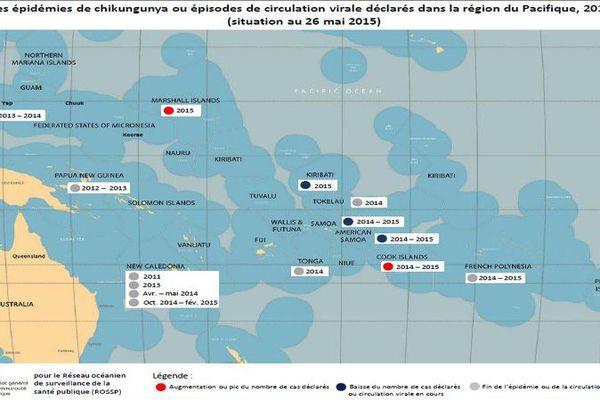 Chikungunya : la moitié des pays océaniens touchés