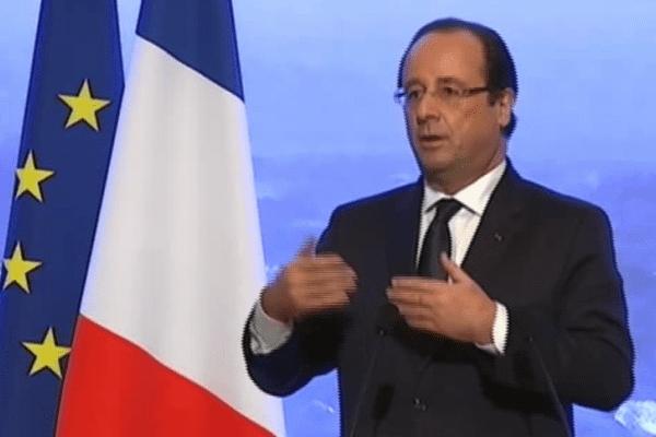Président Hollande à Rémire