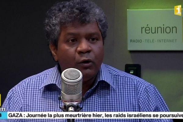 Jean-Hugues Ratenon, président de l'ARCP