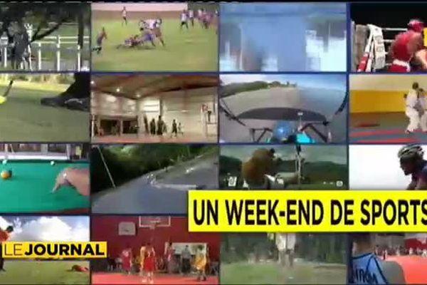 Un week-end de sport : cyclisme, volley ball, etc…