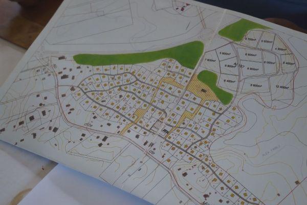 Plan d'aménagement La Levée
