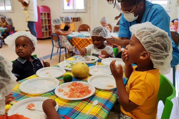 Semaine du goût à Cayenne : le chadek est plébiscité par les petits