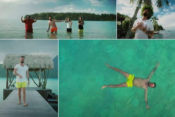 Keen V : son dernier clip tourné en Polynésie