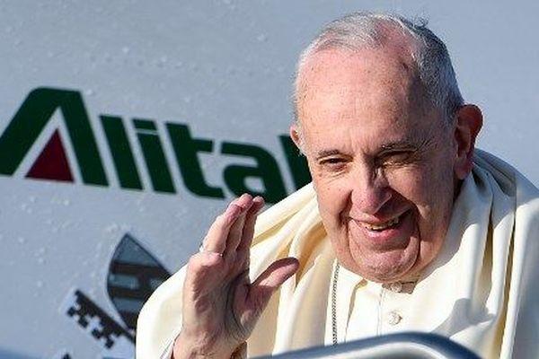 le pape part pour le Panama