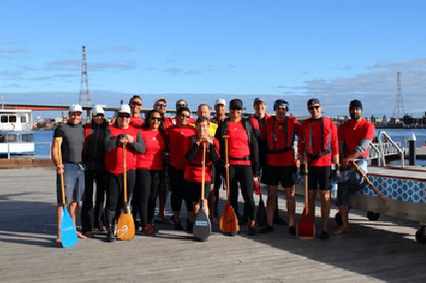Le Melbourne outrigger canoë club