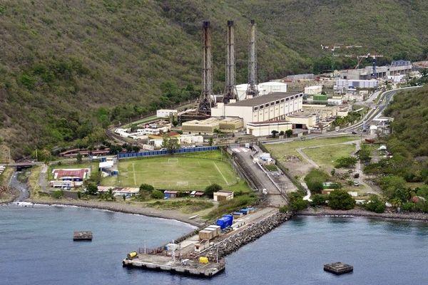 Centrale EDF Bellefontaine en Martinique