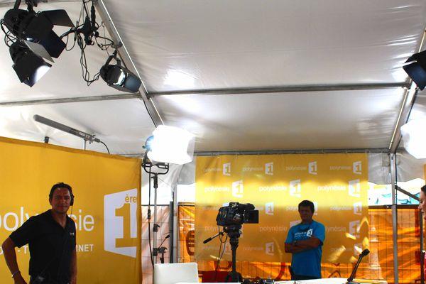 Les festivaliers du FIFO en direct sur les ondes de Polynésie 1ère