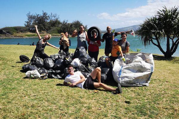 Big Concours Nettoie ton île Ramassage de déchets