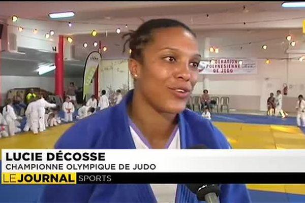 Lucie Decosse, un maître en or