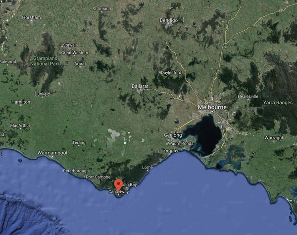 Australie Cap Otway