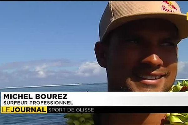 Michel Bourez à la veille de la Billabong Pro Tahiti