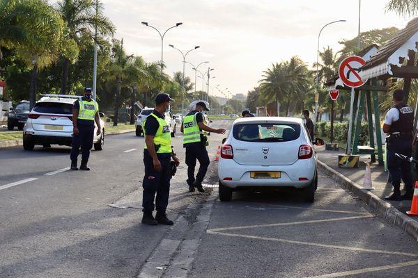contrôle routier / police