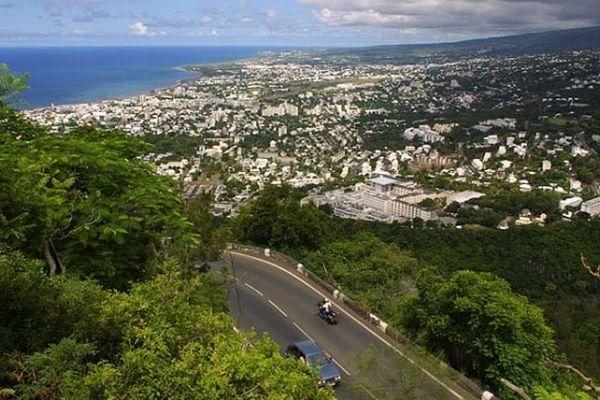 Route de la Montagne à Saint-Denis