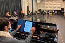 Première Masterclass avec Fabrice Di Falco et rencontre entre candidats à l'Opéra Bastille