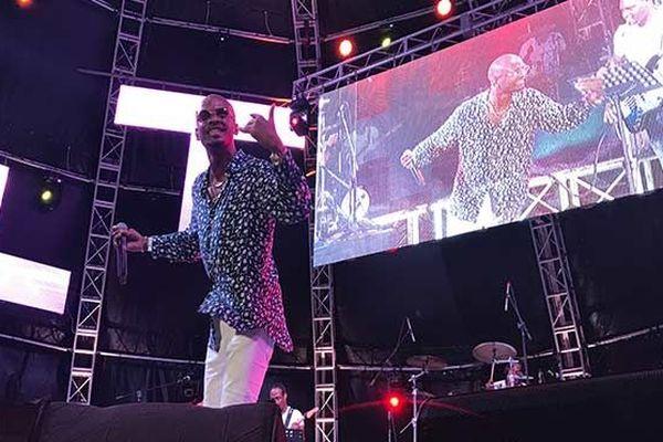 Chanteur à Sainte-Lucie