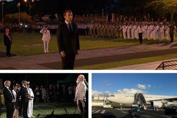 Macron jour 1