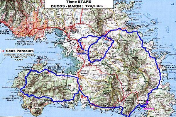 Etape 7 : Ducos - Marin
