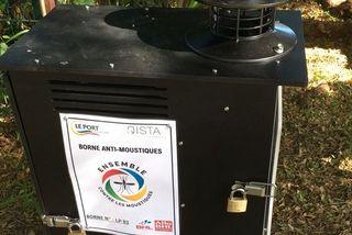 Dengue : des bornes anti-moustiques installées dans deux écoles du Port