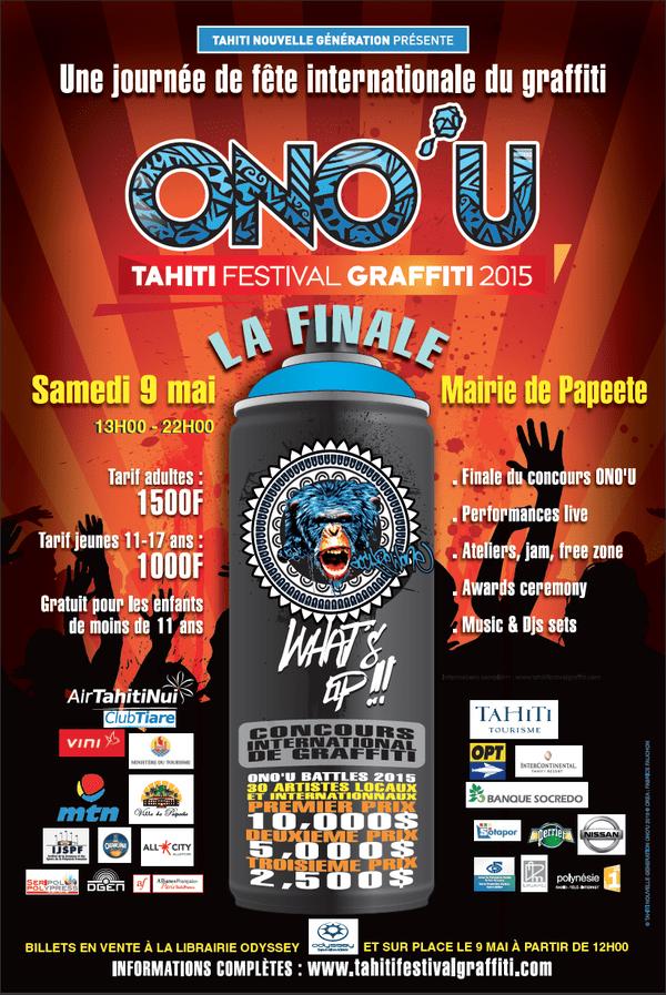 Affiche journée 9 mai - Festival Ono'u 2015