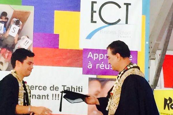 Remise des diplômes de l'ECT