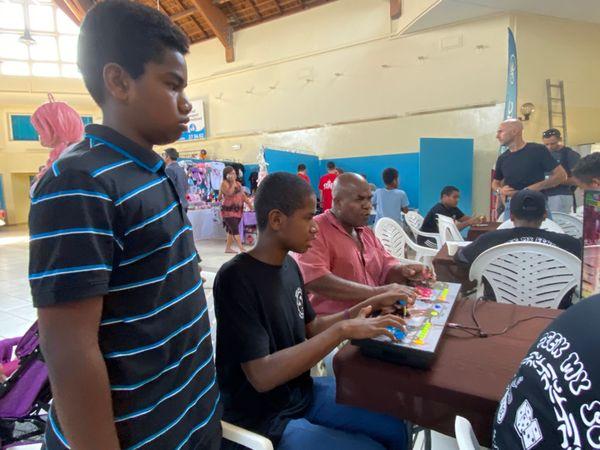 Week-end geek 2020, maison des artisans, Nouméa, atelier collège de Kaméré, 15 novembre 2020