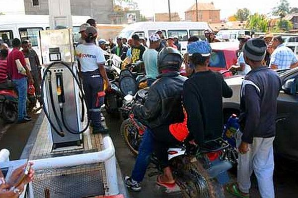 Crise de l'essence à Mada octobre 2019