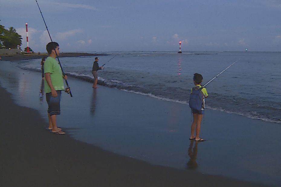 Baie du Taaone : le rendez-vous des pêcheurs d'ature - Polynésie la 1ère