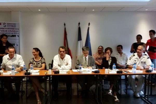 Réunion du comité de coordination du service civique au Haut-Commissariat - 29 01 2015