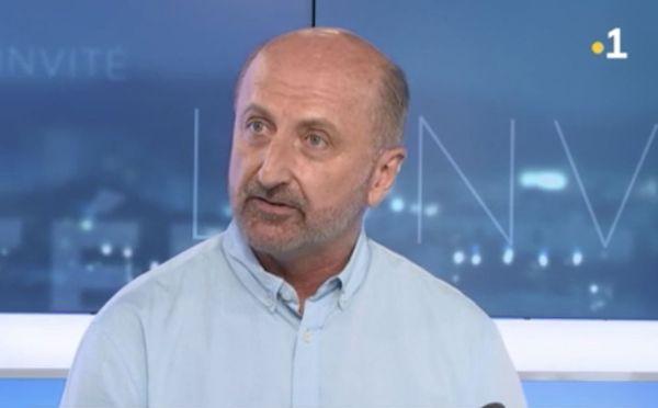Gaël Yanno, président du Congrès depuis le 30 juillet 2018.