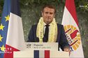 Emmanuel Macron dresse le bilan de sa visite en Polynésie