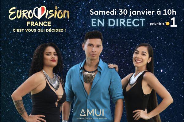 Eurovision France, c'est vous qui décidez !