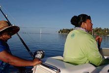 Lucie et Rosalie vont pêcher au large chaque matin.