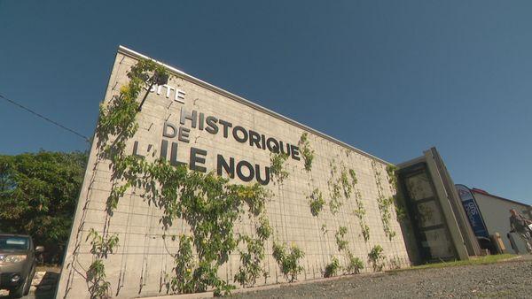 Inauguration du site historique de l'île Nou, Nouméa, 6 mai 2021