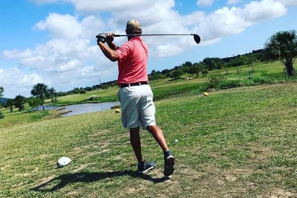 Concours de golf à Matiti.