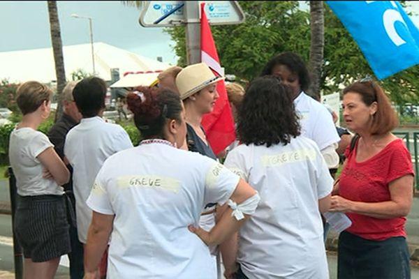 Grève au CHU Sud