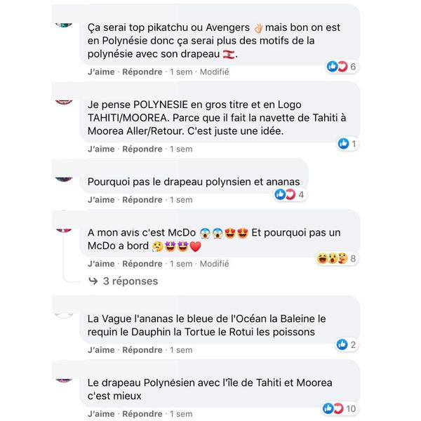 Commentaires Ferry 2