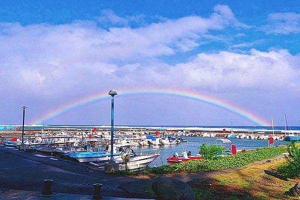 Petit port de Saint-Leu
