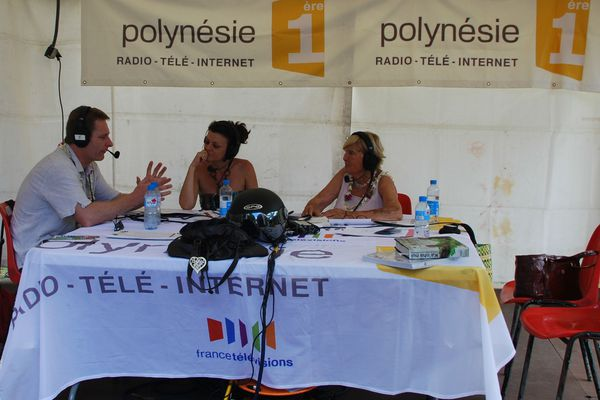Le stand radio