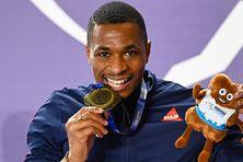 Médaille d'or pour le Guadeloupéen Wilhem Belocian sur le 60 mètres haies des championnats d'Europe en salle !