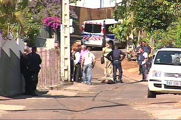 Reconstitution du meurtre de Laurent Catherine 07/07/2011